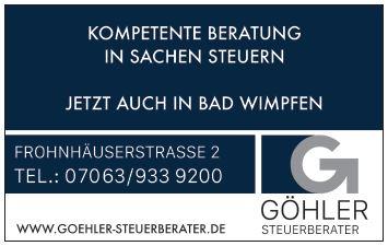 Steuerberater Göhler